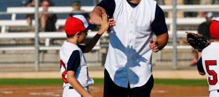 Greg Alves Coaches Little League